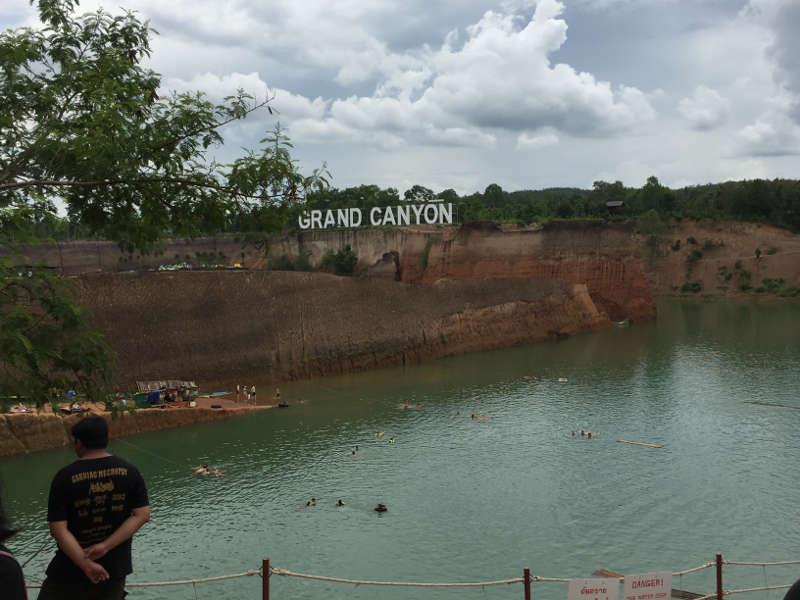 Een foto van de Grand Canyon in Chiang Mai.