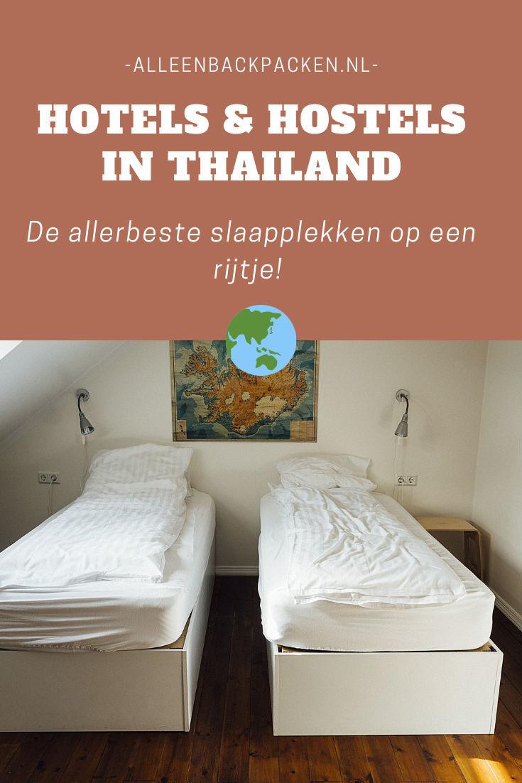 Hotels en hostels in Thailand - De allerbeste slaapplekken op een rijtje!
