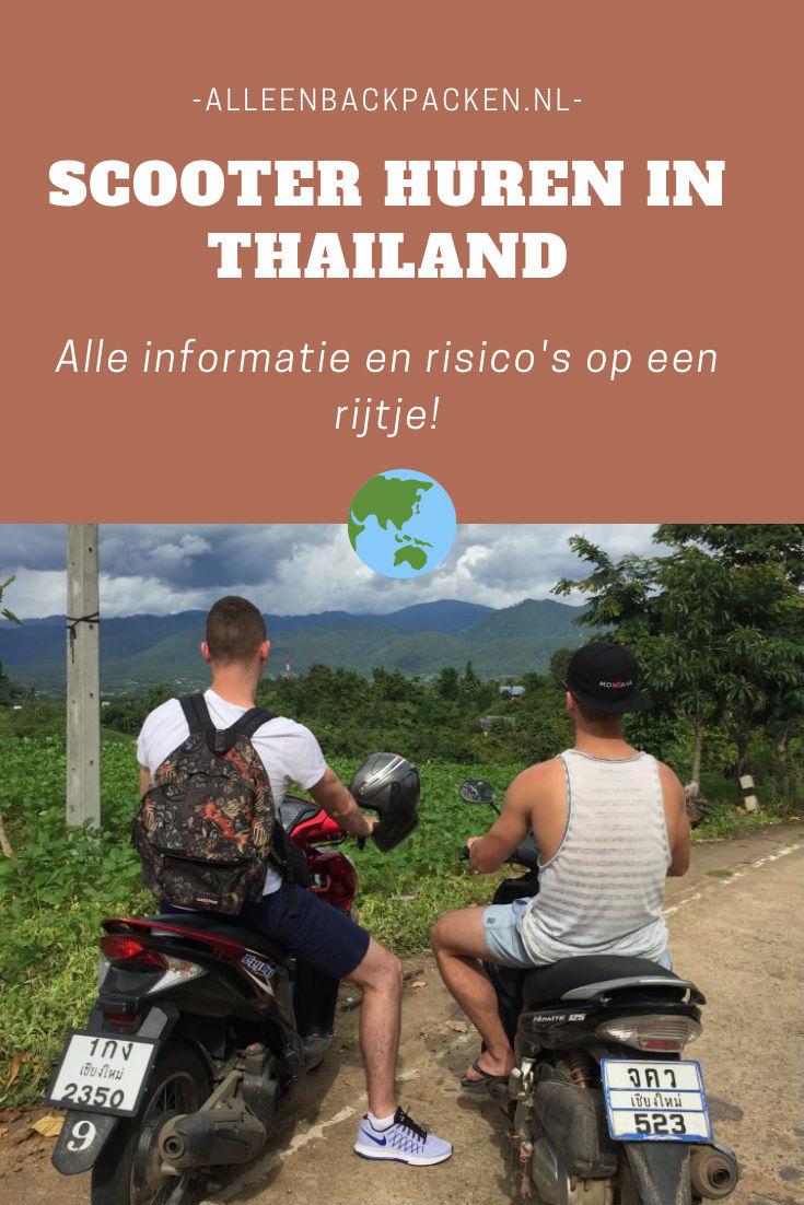 Het huren van een scooter in Thailand - Alle informatie op een rijtje