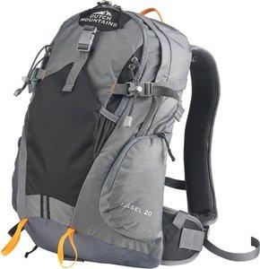 Foto van een 20 liter grote backpack van het merk Dutch Mountains.