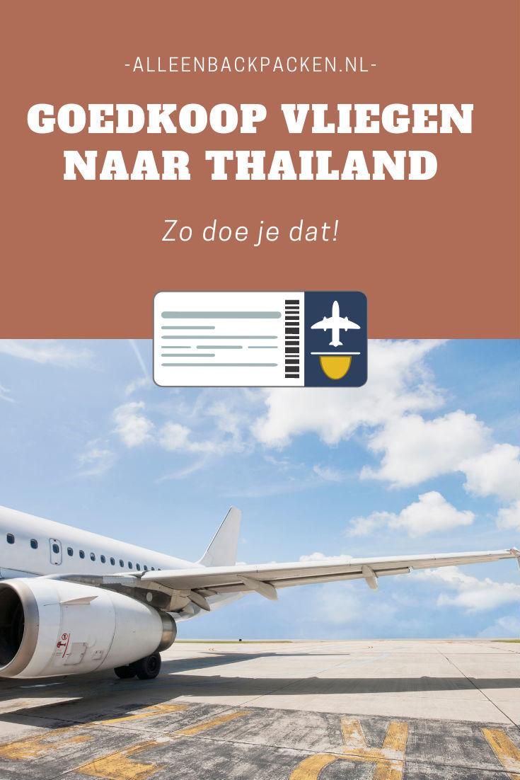 Goedkoop vliegen naar Thailand - Zo doe je dat!