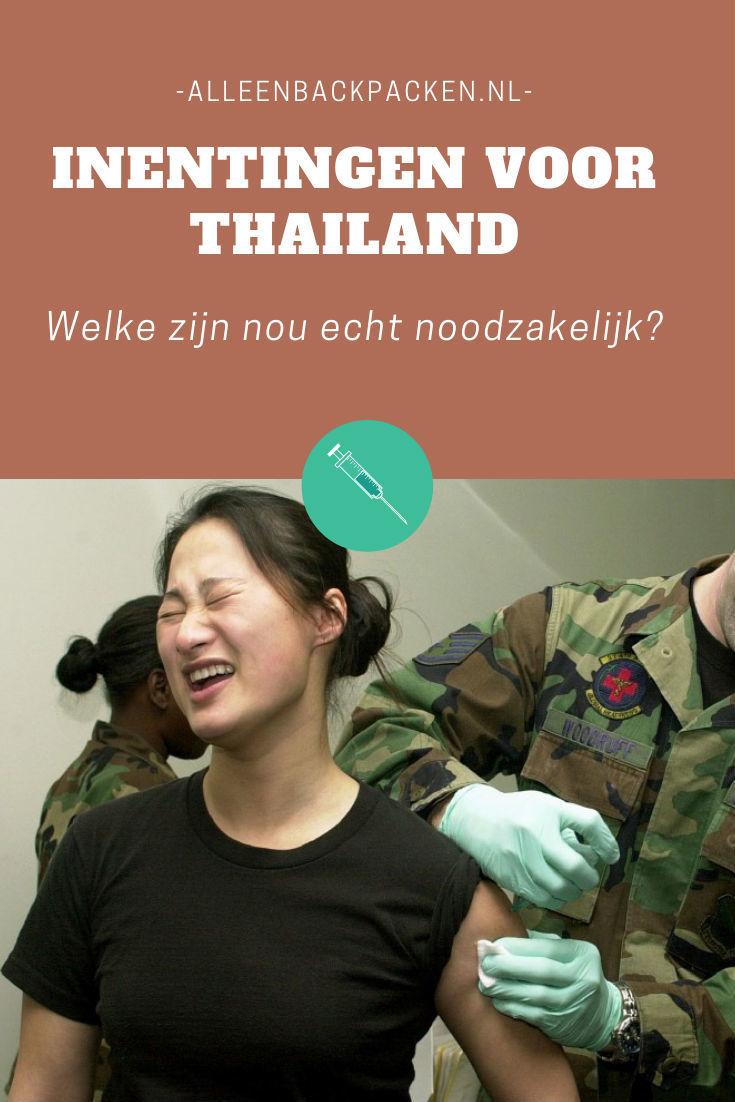 Inentingen voor Thailand worden altijd aangeraden, maar welke inentingen zijn nou noodzakelijk en welke zijn slechts aan te raden? #inentingenthailand #thailand #alleenbackpacken