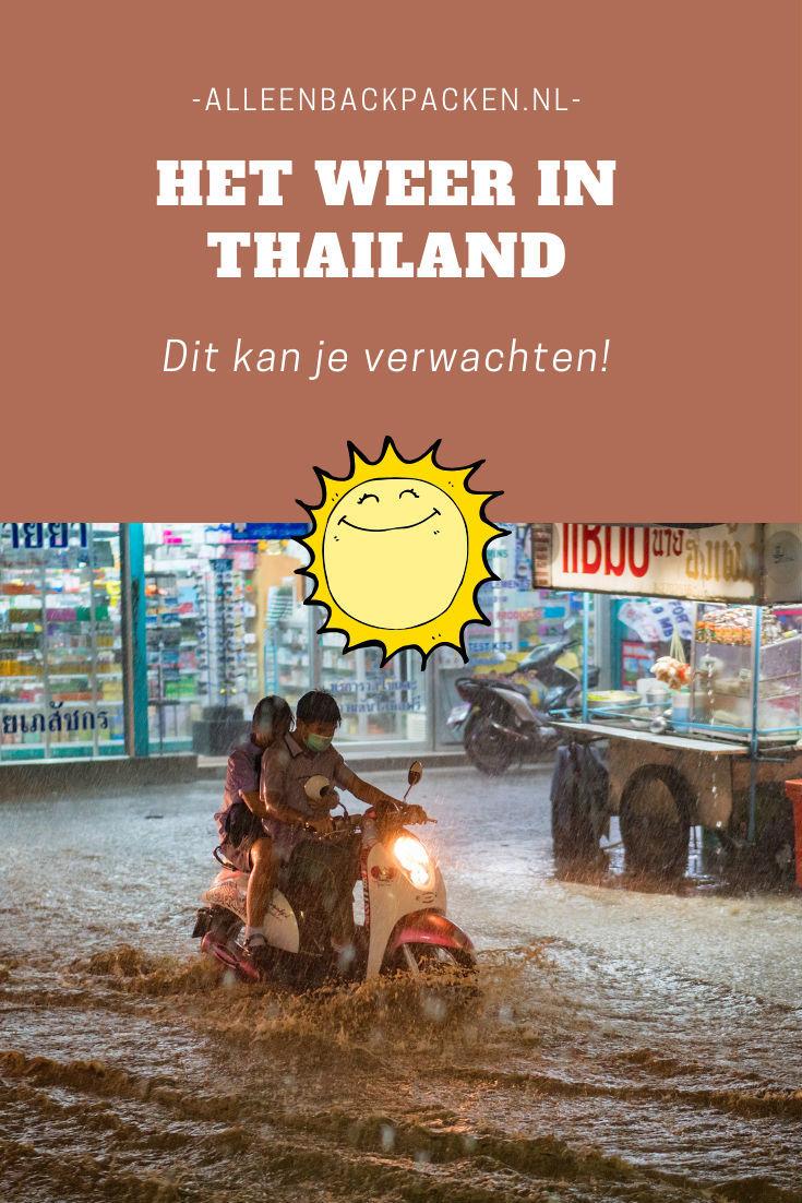 Het weer in Thailand - Dit kan je verwachten!