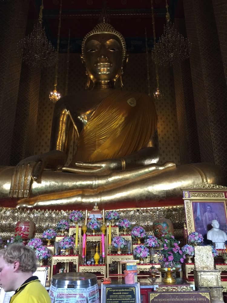 Afbeelding van een boeddha in Thailand