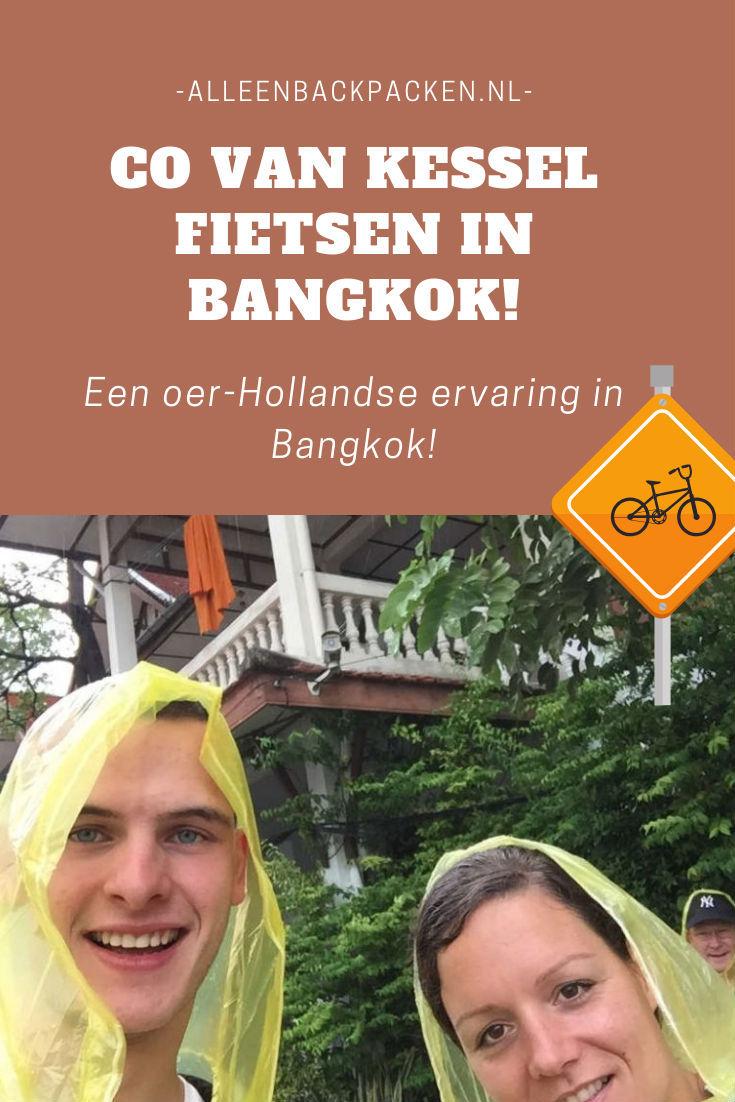 Co van Kessel fietsen in Bangkok - Een oer Hollandse ervaring in een drukke stad!