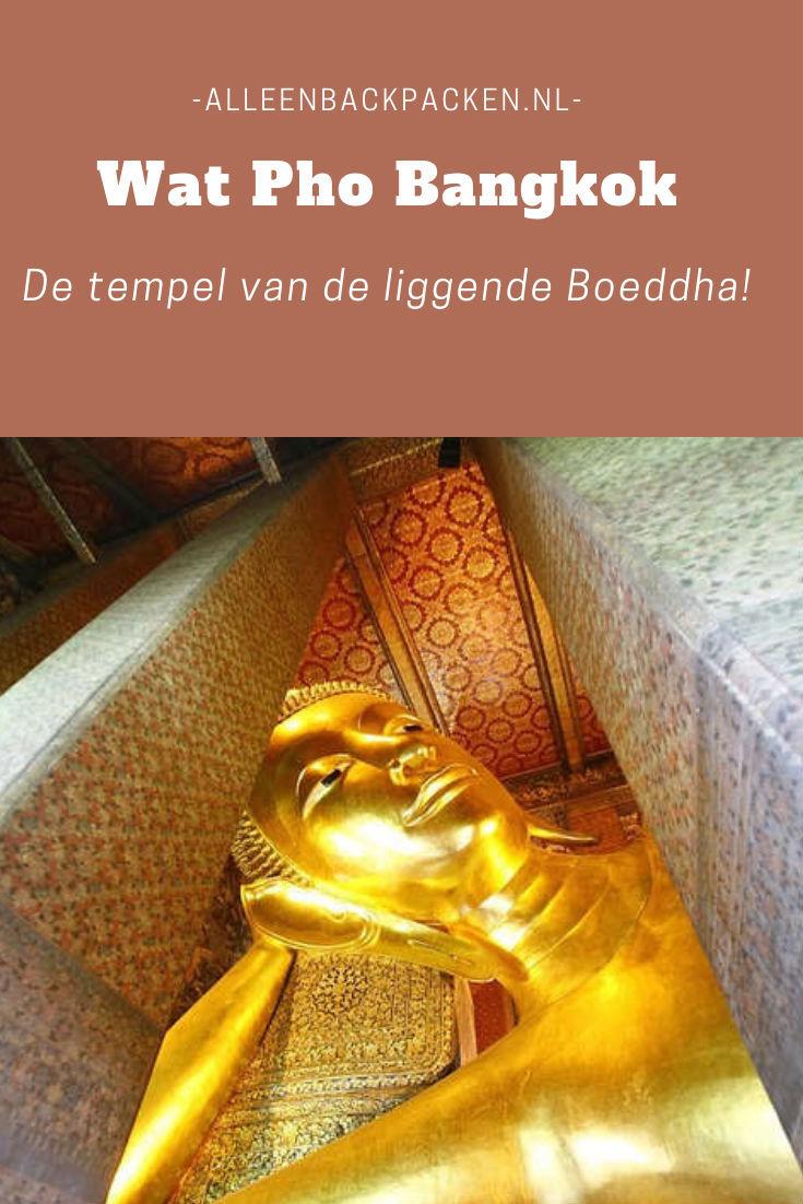 Wat Pho Bangkok - De tempel van de liggende boeddha