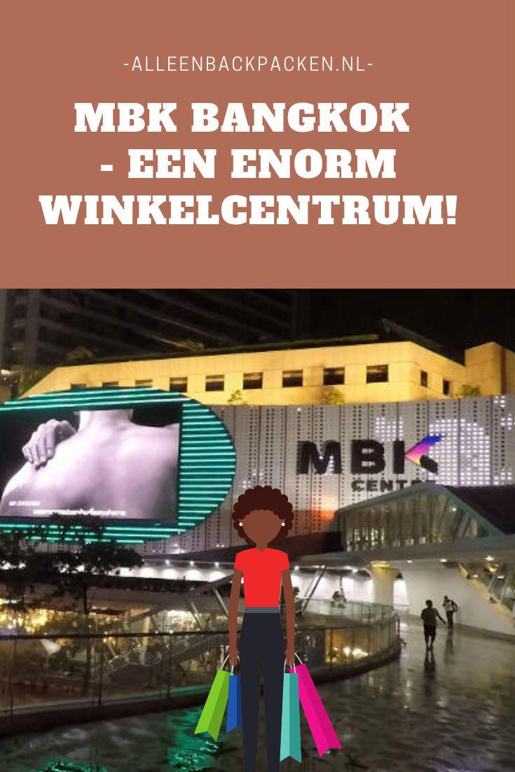 MBK Bangkok - Een immens groot winkelcentrum midden in het centrum van Bangkok!