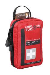 Foto van een basic EHBO kit van het merk Care Plus