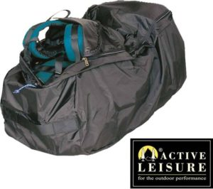 Afbeelding van een flightbag voor een backpack.
