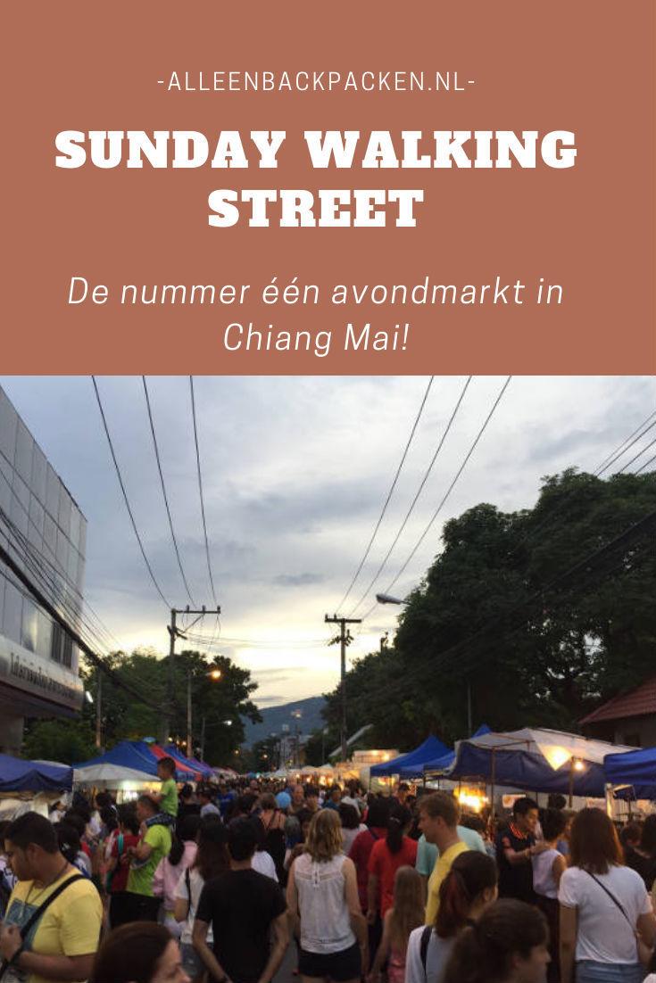 Sunday walking street - De nummer één markt in Chiang Mai