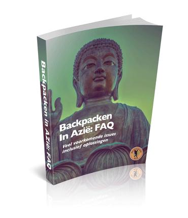 Afbeelding van de cover van het boek: backpacken in Azië FAQ