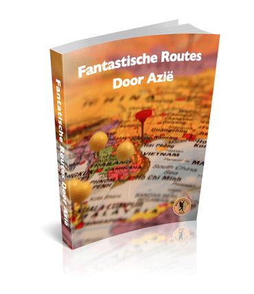 Afbeelding van de cover van het boek: fantastische routes door Azië