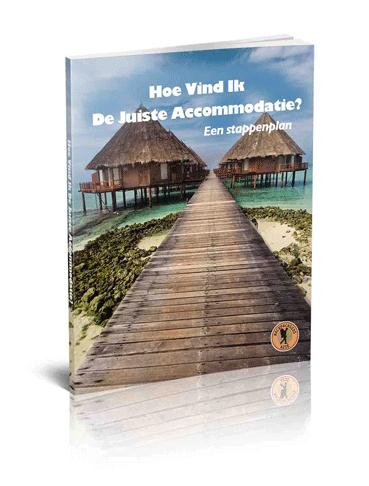 Afbeelding van de cover van het boek: hoe vind ik de juiste accommodatie.