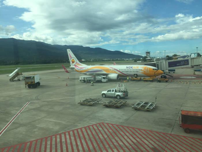 Afbeelding van een vliegtuig van Nok Air.