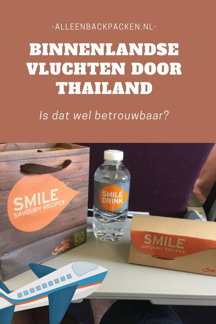 Binnenlandse vluchten door Thailand zijn snel, goedkoop en kunnen je een hoop tijd besparen. Toch vragen de meeste backpackers en reizigers zich af hoe veilig en betrouwbaar binnenlandse vluchten door Thailand nou precies zijn? Daarom, hebben we het in dit blogbericht uitgebreid over de veiligheid van de vliegtuigmaatschappijen in Thailand en wat je zoal kan verwachten als je aan boord stapt van een binnenlandse vlucht door Thailand! #BinnenLandseVluchtThailand #VliegenDoorThailand