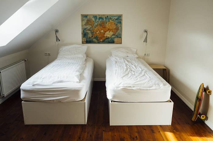 Afbeelding van een privé kamer.