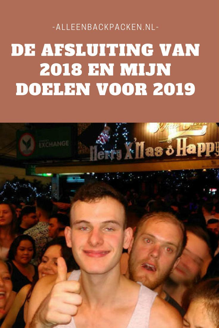 De afsluiting van 2018 en mijn doelen voor 2019