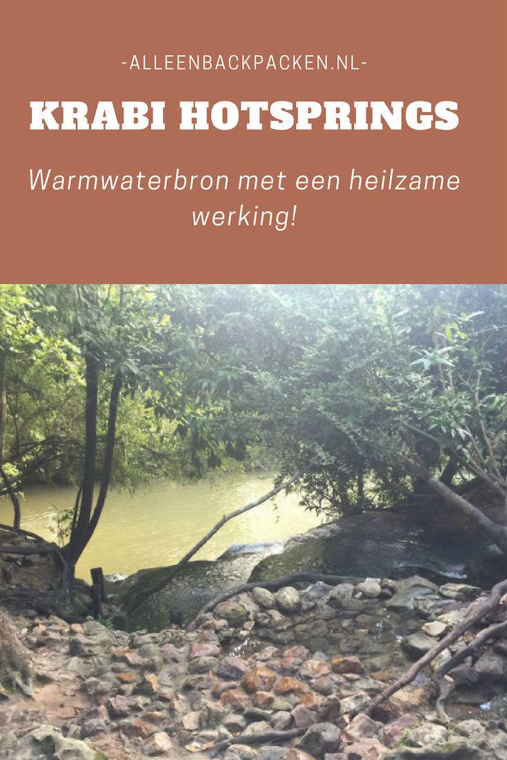 Krabi Hot springs - Warmwaterbronnen met een heilzame werking!