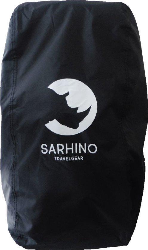 Afbeelding van een 100 liter flightbag van het merk sarhino.