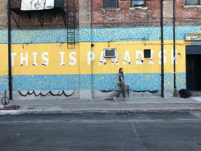 Een afbeelding van Agnes Nederhof in Toronto.
