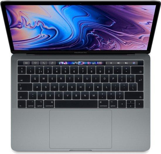 Foto van een macbook pro uit 2018.