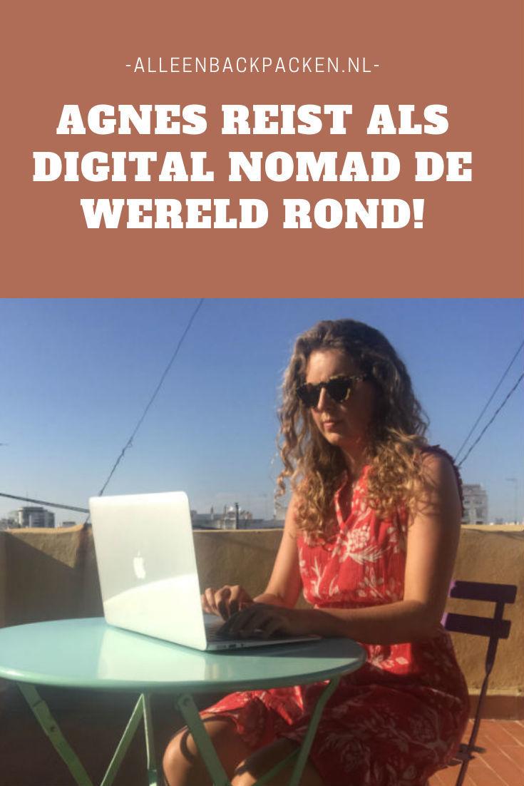 Agnes, reist als digital nomad de hele wereld rond!
