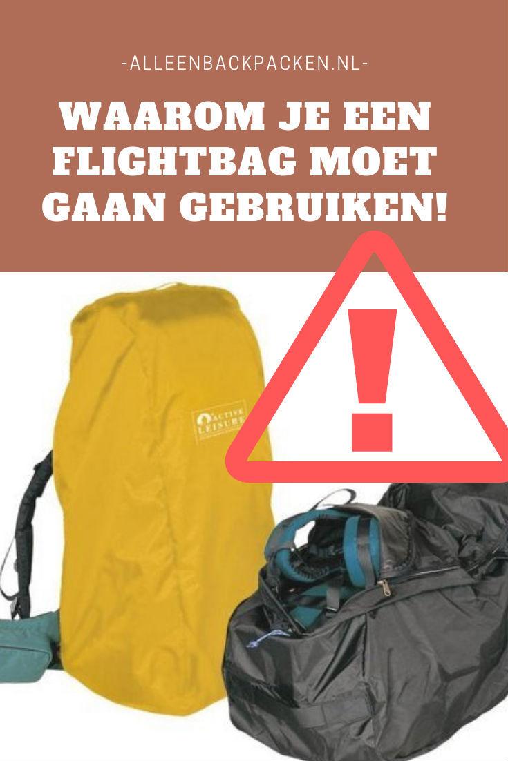 Waarom je een Flightbag voor jouw backpack moet kopen!