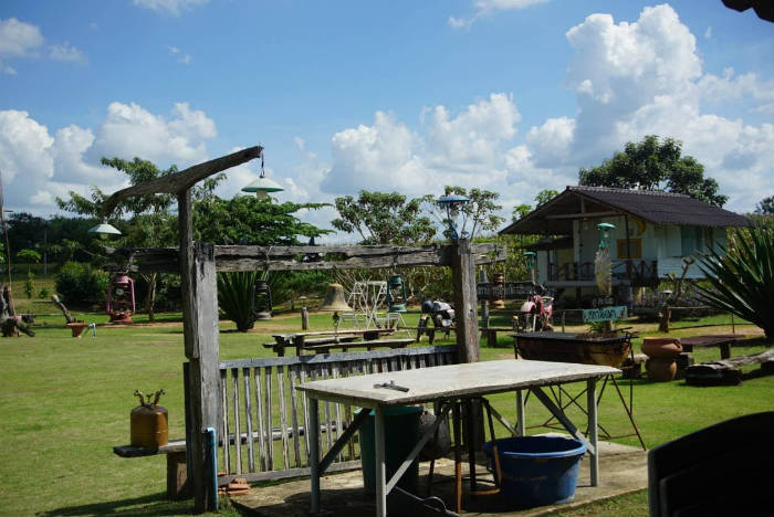 Afbeelding van een farmstay in Thailand.