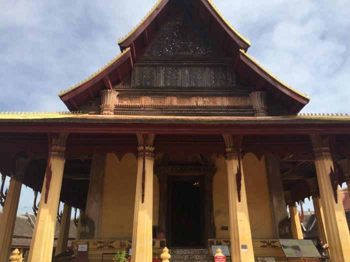 Foto van de Wat Sisaket tempel.