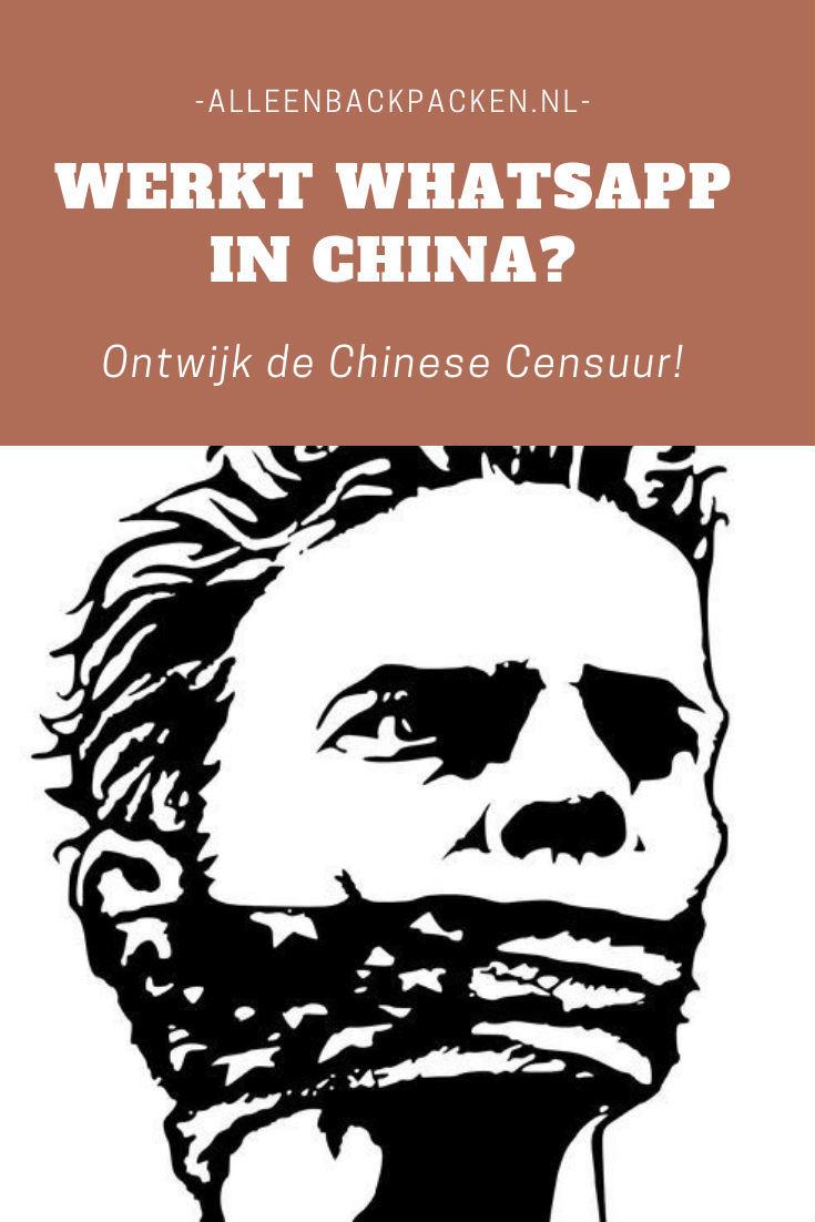 Werkt Whatsapp in China? - Ontwijk de censuur!