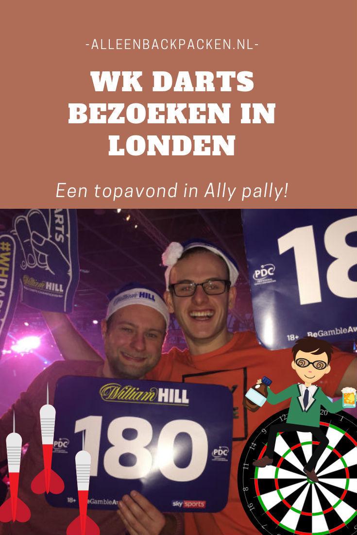 Wk darts bezoeken in Londen – Top avond in Ally Pally!
