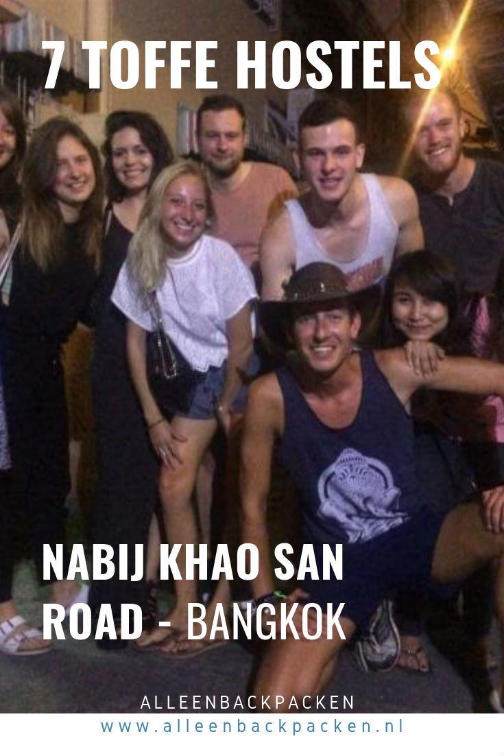 De Khao San Road is misschien wel de meest bekendste backpackersstraat in Bangok. Hierdoor zijn er veel hostels te vinden, maar wat zijn nou goede hostels in de buurt van de Khao San Road? Hierbij mijn lijstje met 7 toffe hostels nabij de Khao San Road! #HostelBangkok #Hostel #Bangkok #KhaoSanRoad #SlapenInEenHostel